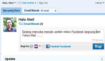Integrasi Yahoo dan Facebook